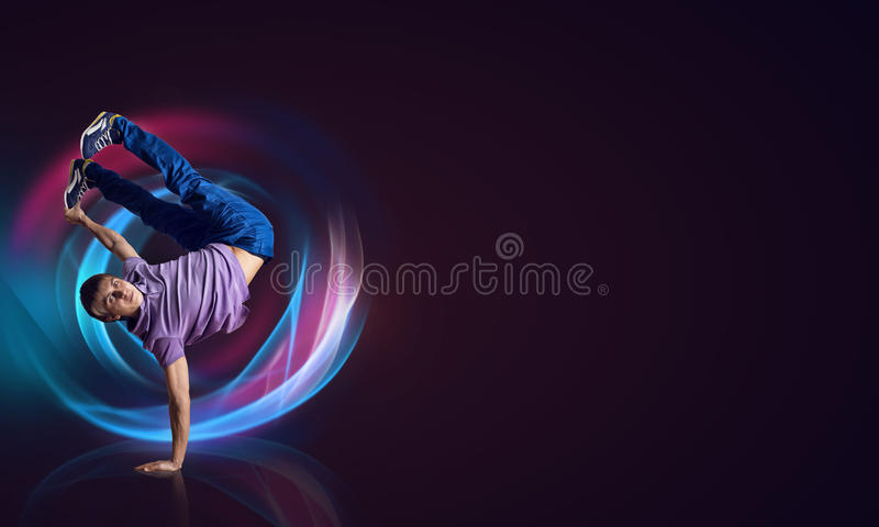 Тазобедренный танцор хмеля бесплатная иллюстрация