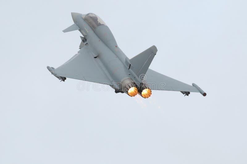 таифун eurofighter форсажа стоковые фотографии rf