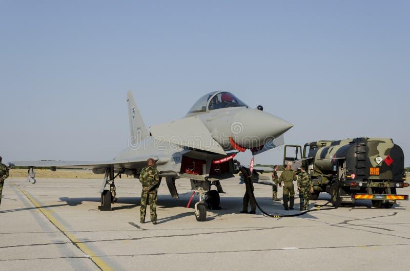 Таифун Eurofighter стоковое изображение rf