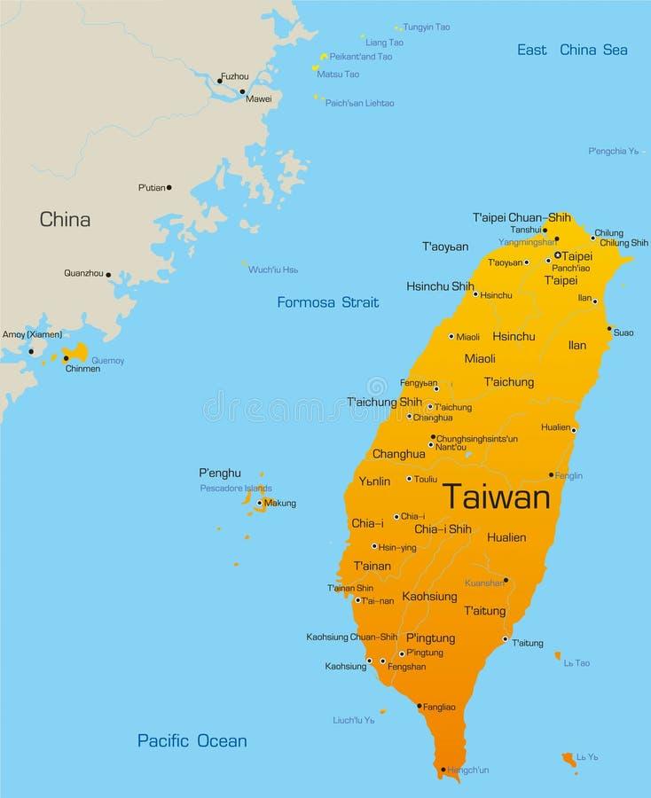 Тайвань бесплатная иллюстрация