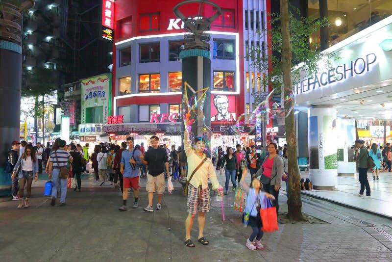 Тайвань: Ximending стоковая фотография rf