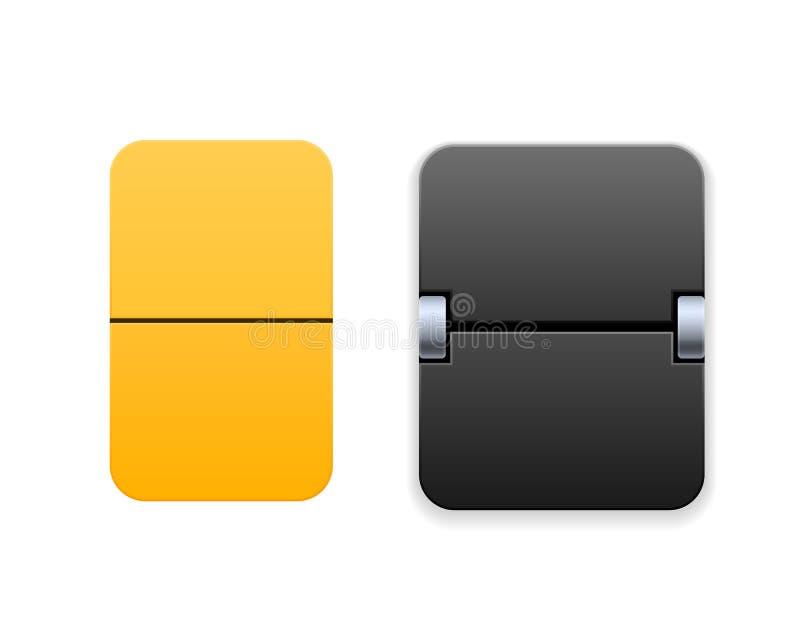 Таймер цифров, счетчик комплекса предпусковых операций Механически табло, вахта сальто бесплатная иллюстрация