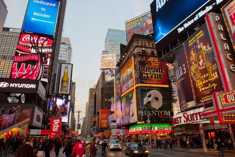 Таймс площадь, New York стоковое фото rf