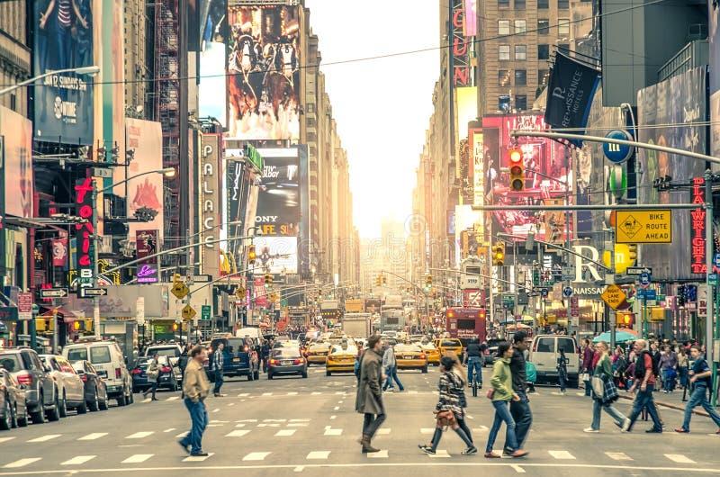 Таймс площадь, Нью-Йорк стоковые фото