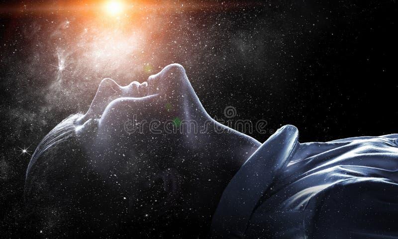Тайна мира космоса стоковая фотография