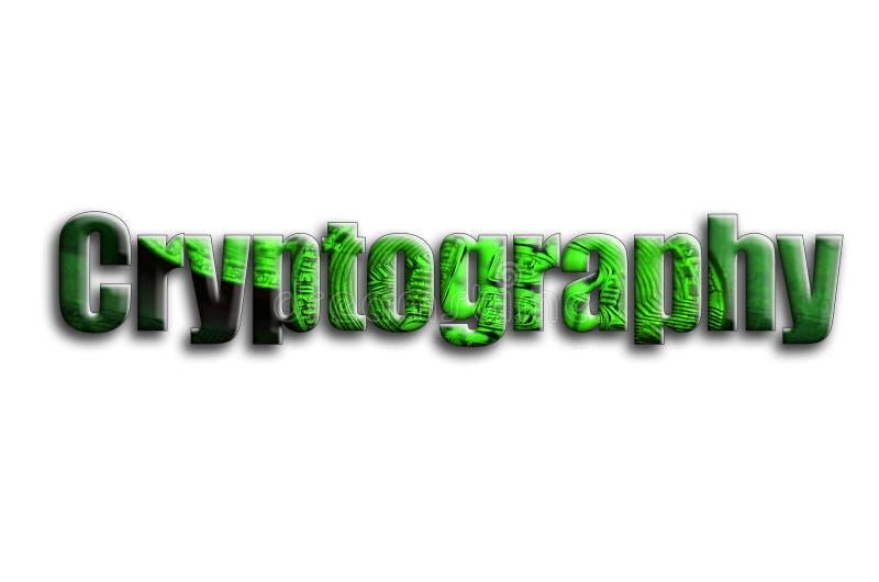 тайнопись Надпись имеет текстуру фотографии, которая показывает несколько bitcoins на долларовые банкноты стоковая фотография