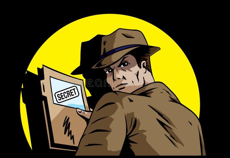 Секретные планы бесплатная иллюстрация