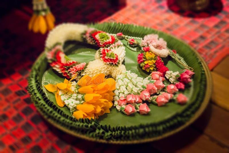 Тайская гирлянда Handmade Таиланда стоковые изображения