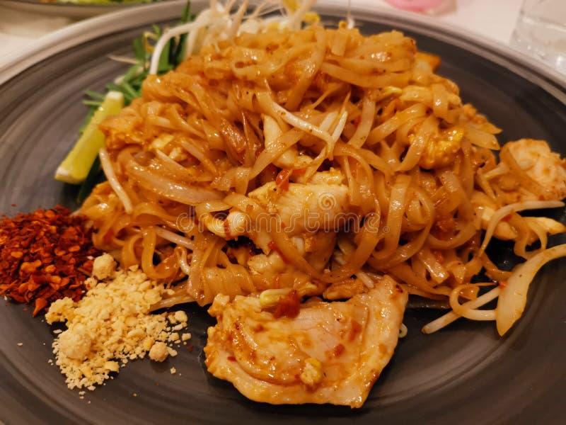 Тайская еда - Pad Thai стоковое изображение rf