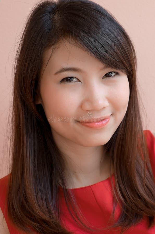 Тайская женщина Азии стоковая фотография