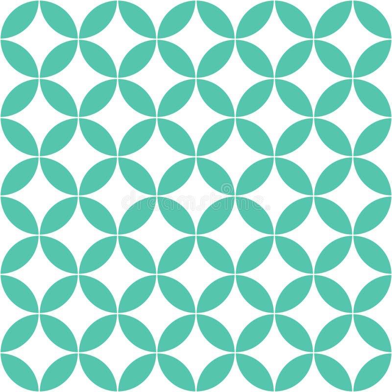 Тайская зеленая картина года сбора винограда звезды иллюстрация штока
