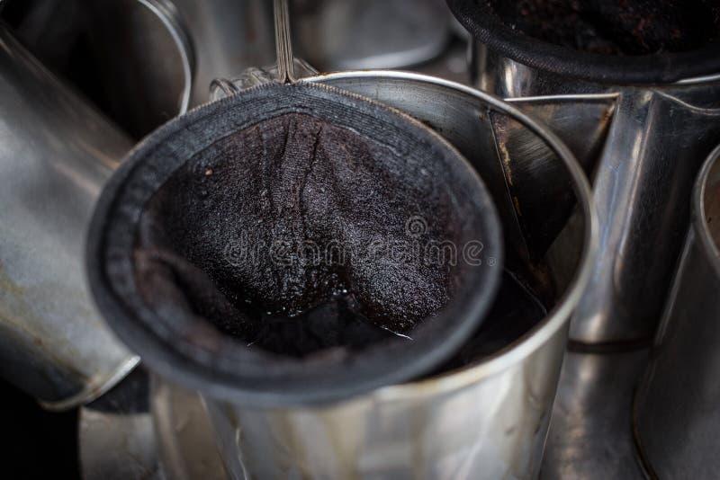 Тайская кофеварка стоковая фотография