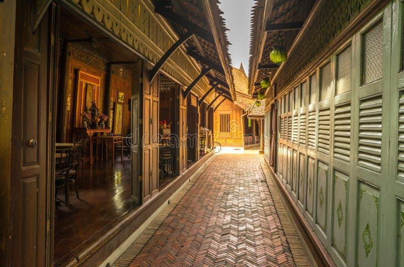 Тайская кофейня стоковые изображения rf