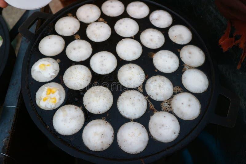 Тайская кухня имеет разнообразие шармы и десерты в красивом цвете стоковая фотография