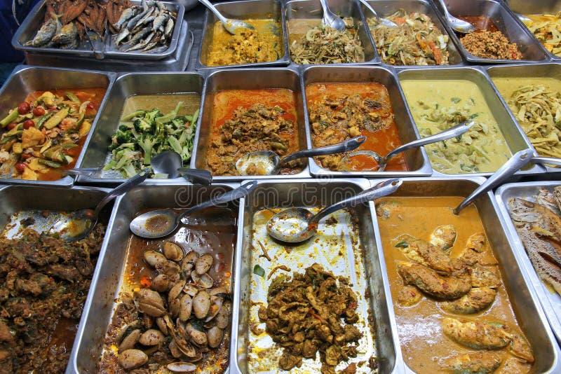 Тайская кухня стоковое фото rf