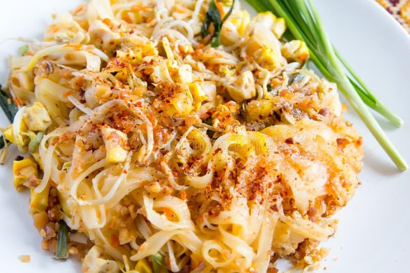 Тайская пусковая площадка еды тайская стоковая фотография