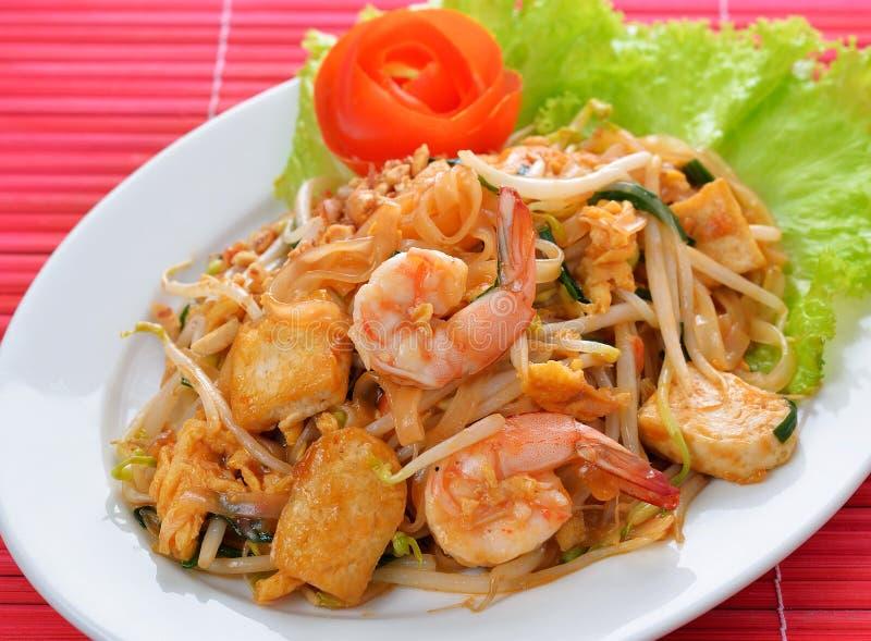 Тайская пусковая площадка еды тайская стоковое изображение