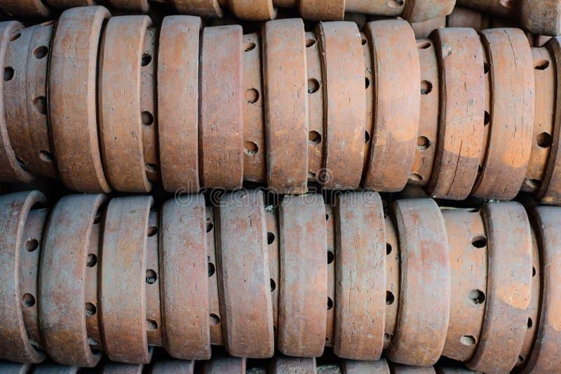 Тайская традиционная гончарня глины стоковые изображения