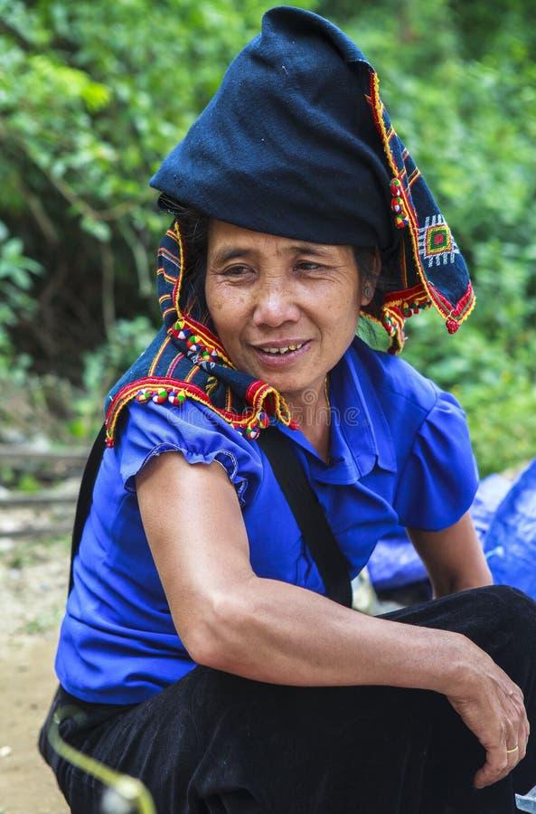 Тайские женщины в Вьетнаме стоковая фотография