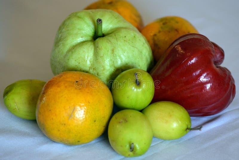 Тайские плодоовощи стоковое фото