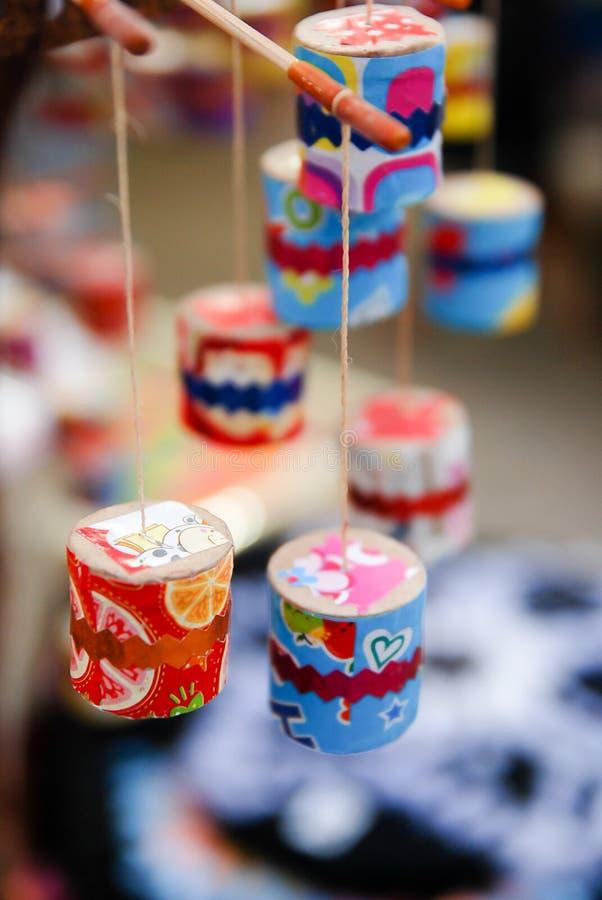 Тайские ретро игрушки стоковая фотография rf