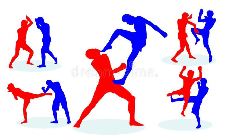 Тайский бокс стоковая фотография