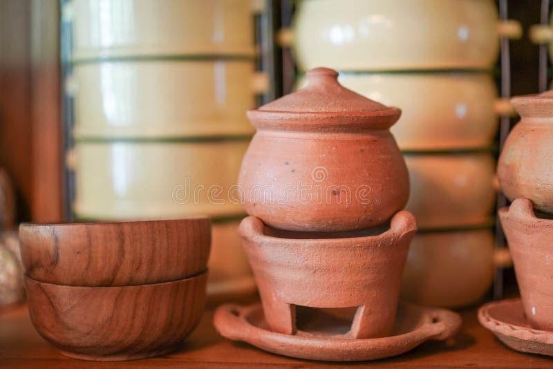 Тайский винтажный kitchenware стоковая фотография