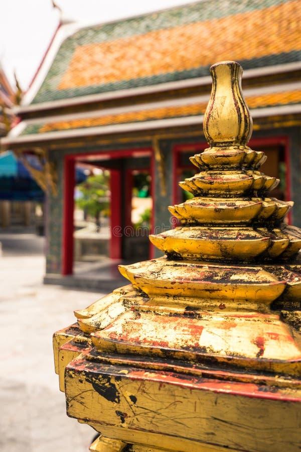 Тайский висок Wat Ratchabophit стоковые изображения rf