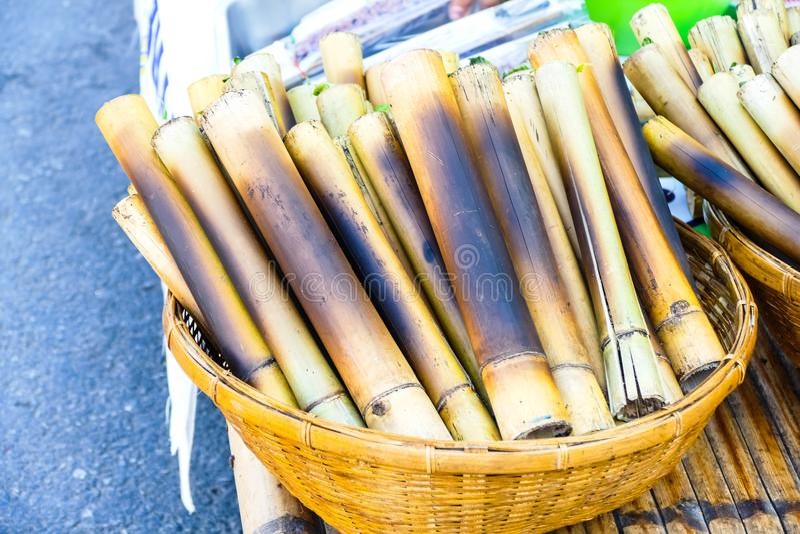 Тайский десерт - бегство Khao стоковые фото