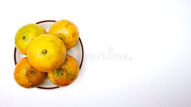 Тайский очень вкусный tangerine стоковое фото rf