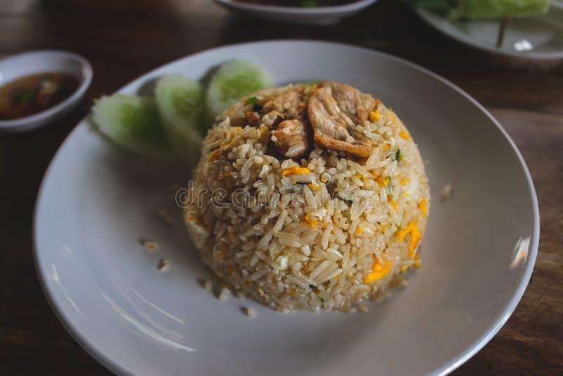 Тайский увольнянный рис стоковые фотографии rf