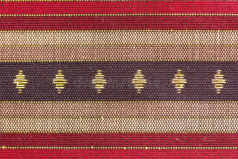 Тайский флаг конструировал шелк стоковые изображения rf