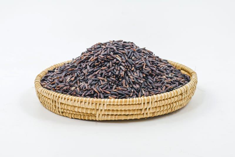 Download Тайский черный рис жасмина (ягода риса) Стоковое Фото - изображение насчитывающей ягод, варить: 40591288