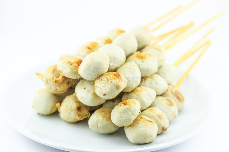 Тайский шарик мяса стоковое фото