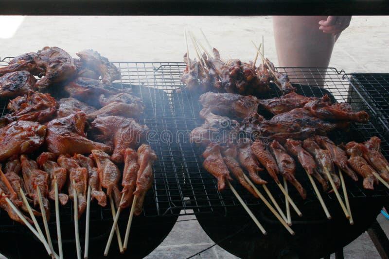 Тайским зажаренная стилем ручка мяса стоковые фото