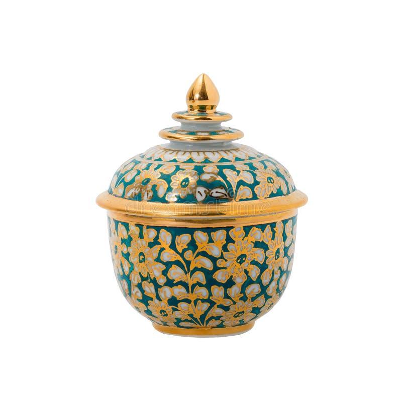 Тайское керамическое, фарфор стоковое фото