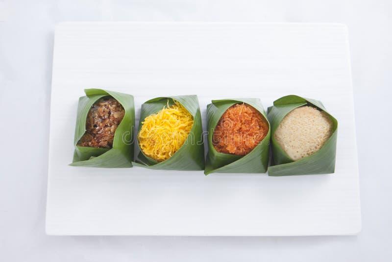 тайское типа десерта сладостное стоковое фото rf