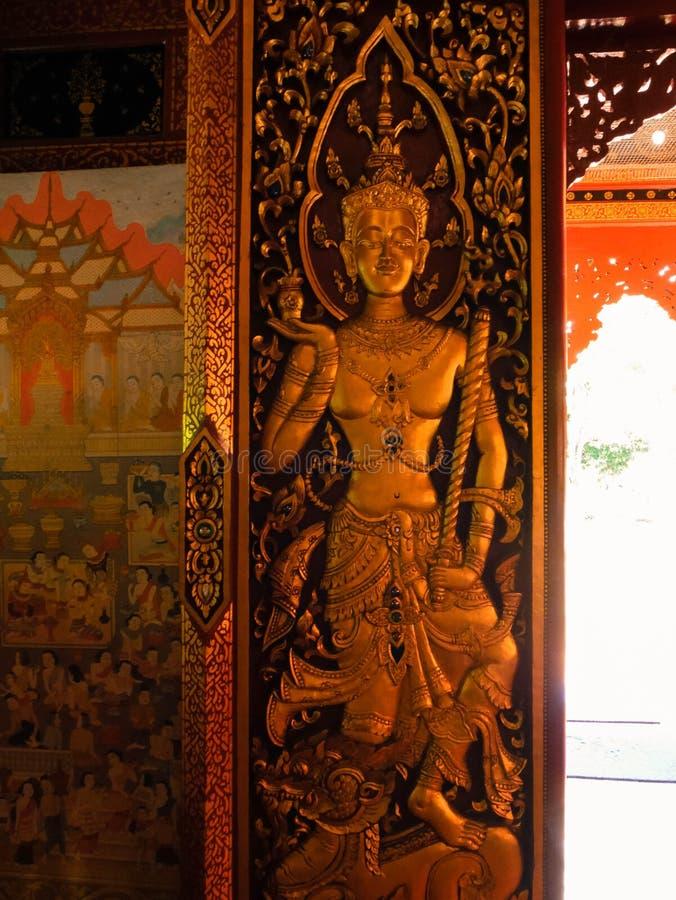 Тайское Dvarapala стоковое фото