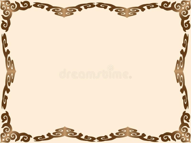 Тайское frame2 стоковое фото rf