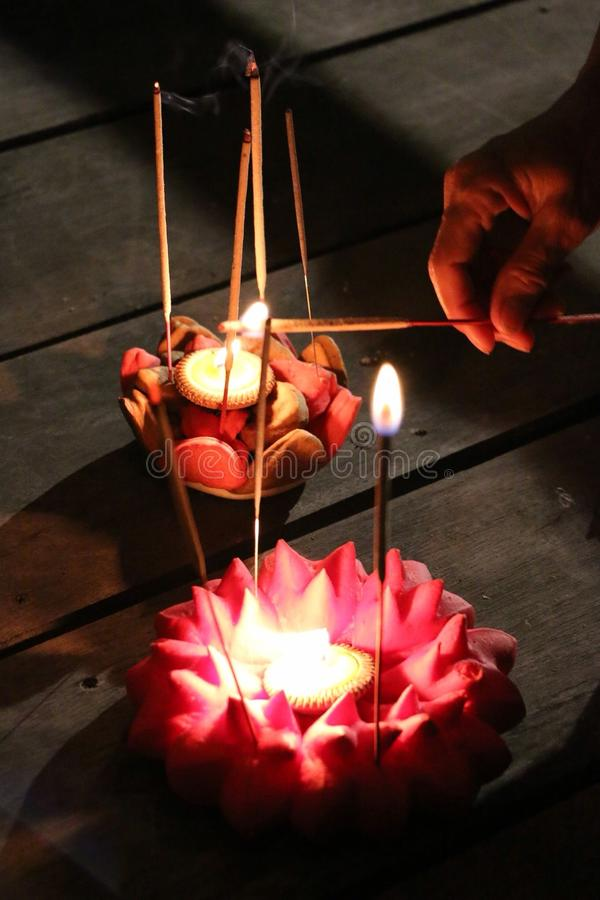 Тайское lanna стоковое фото