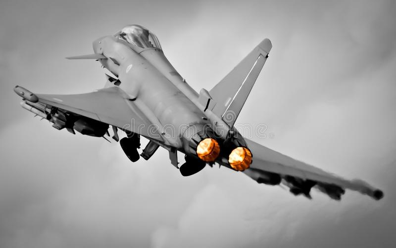 Тайфун Eurofighter стоковое изображение
