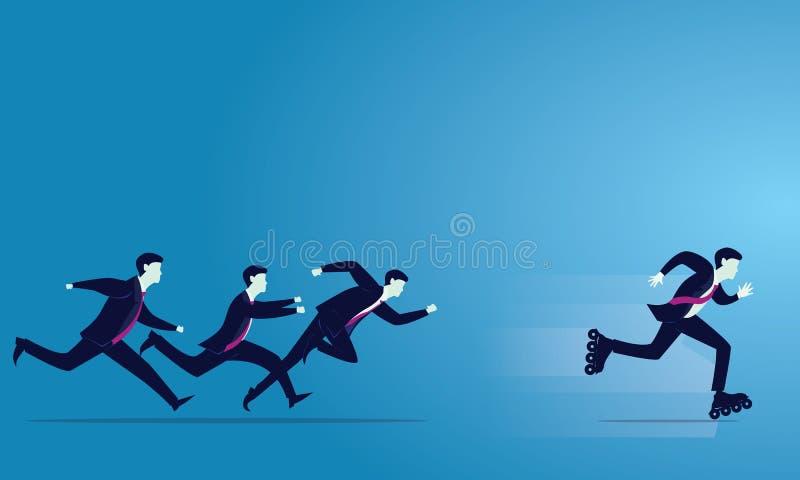 также вектор иллюстрации притяжки corel азиат за молотком принципиальной схемы конкуренции бизнесмена дела bowing держа 2 Спринт  бесплатная иллюстрация