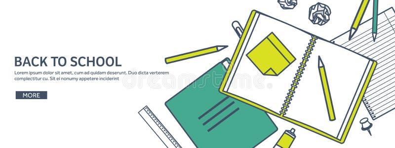 также вектор иллюстрации притяжки corel Исследование и образование Выровнянный плоский стиль Знание, информация Учебный прочесс ш иллюстрация вектора