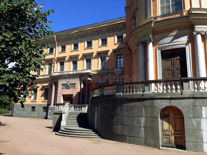 Также вызванный замок ` s St Michael, замком Mikhailovsky или инженерами замок ` стоковое фото