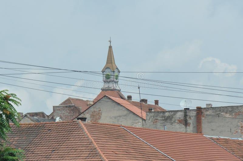 также как место Польша s христианской церков винзавода известное названное старое там возвышаются городок куда zywiec стоковая фотография rf