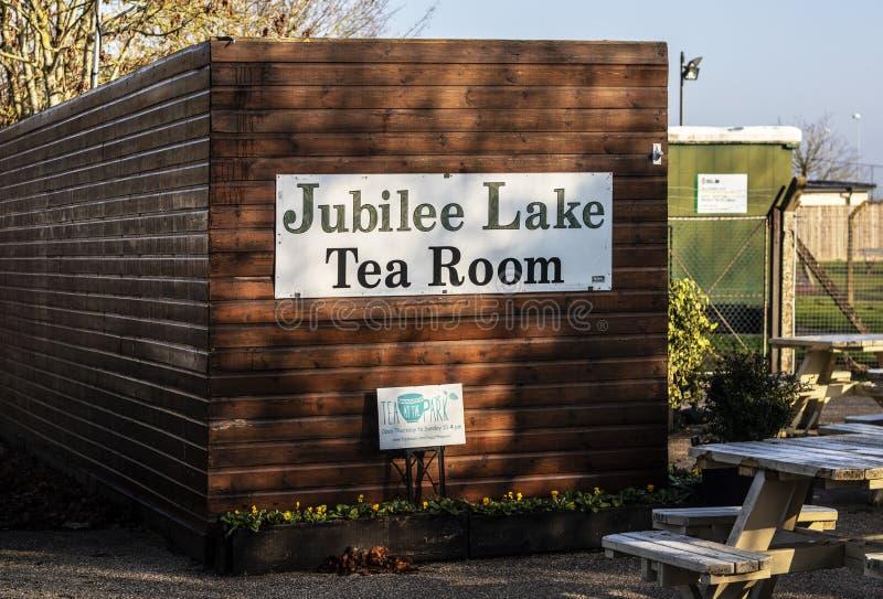 Такса Wootton чайной комнаты озера юбилей королевская в Уилтшире стоковые фото
