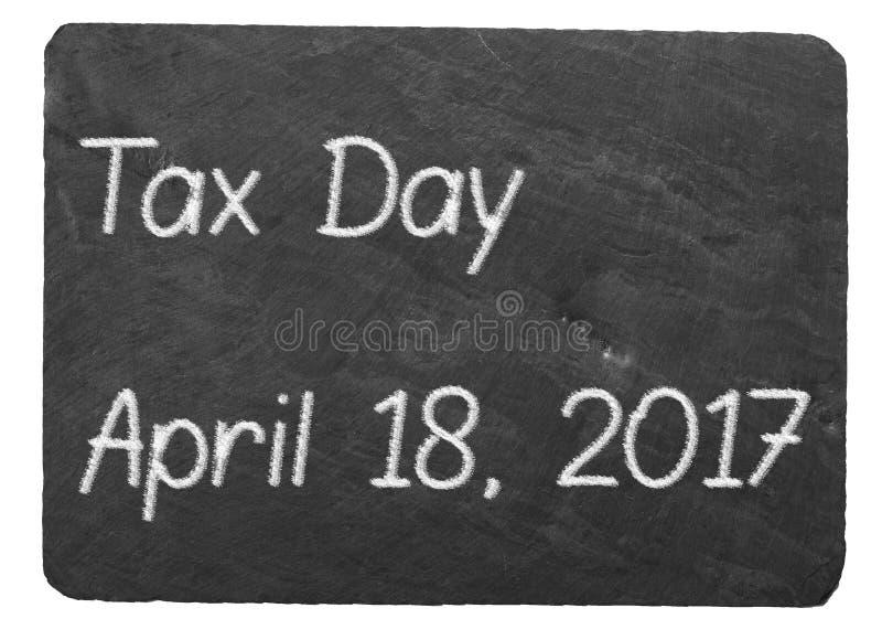 Download Таксируйте концепцию дня используя мел на классн классном шифера Стоковое Фото - изображение насчитывающей памятка, америка: 81802136