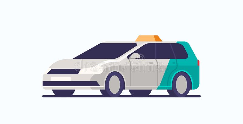 такси автомобиль иконка кабины автомобиль пассажирские перевозки ÐºÐ¾Ð½Ñ иллюстрация вектора