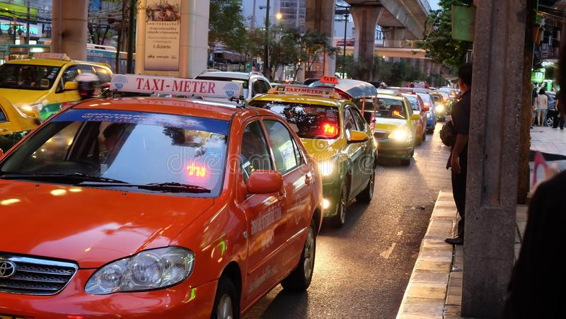 Такси Бангкока стоковое изображение