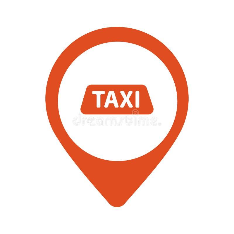 Такси, логотип вектора кабины, дизайн Значок аренды автомобилей, эмблема app Значок графика пункта такси бесплатная иллюстрация